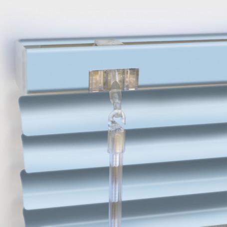 Persiana veneciana lamas 25mm aluminio colores lisos satinados