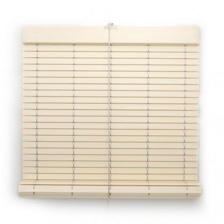 persiana cadenilla alicantina plástico pvc color marfil
