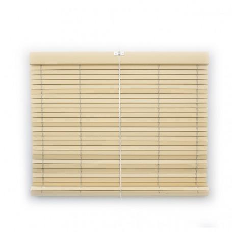 Persiana alicantina enrollable madera pintada a medida