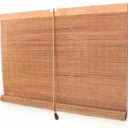 Persiana de madera exterior nogal claro Ceylán