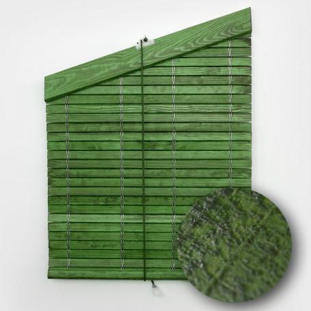 persiana-madera-barnizada-verde-rustico-cp-cabezal-triangular