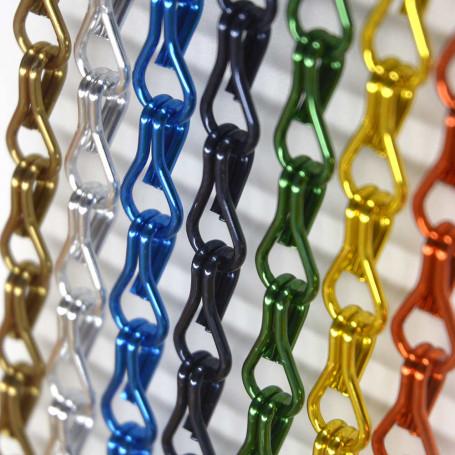 Cortina mosquitera cadena de aluminio KRM a medida
