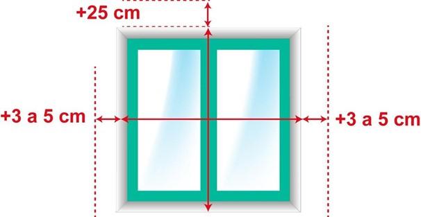 como medir persianas alicantinas por fuera